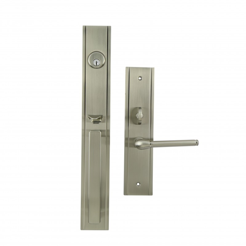 THE PARK AVENUE entrance series-TL02 in satin nickel