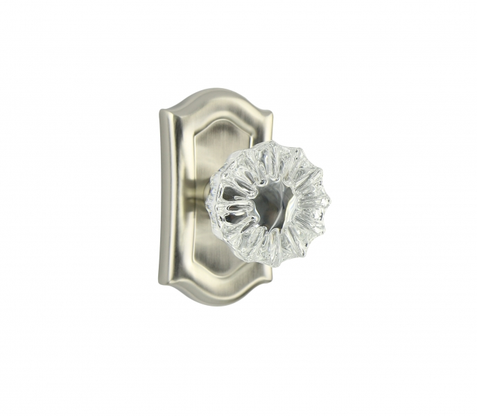 Hampton Small Plate – Flower Crystal