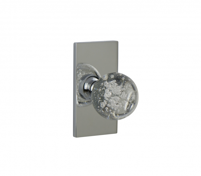WSP-01-Bubble Crystal – Contemporary Door Knob