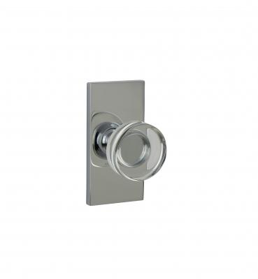 WSP-01-ROUND OPAL CRYSTAL – Contemporary Door Knob