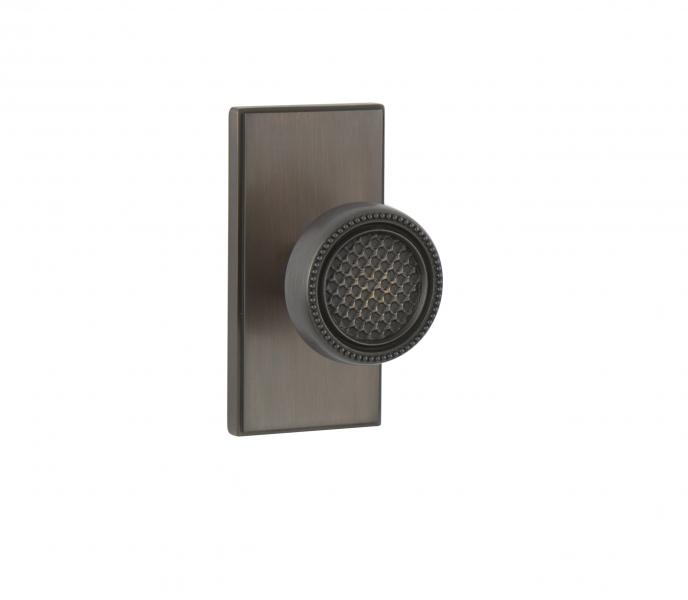 WSPS-01-CRK01 – Oil Rubbed Bronze Contemporary Door Knob