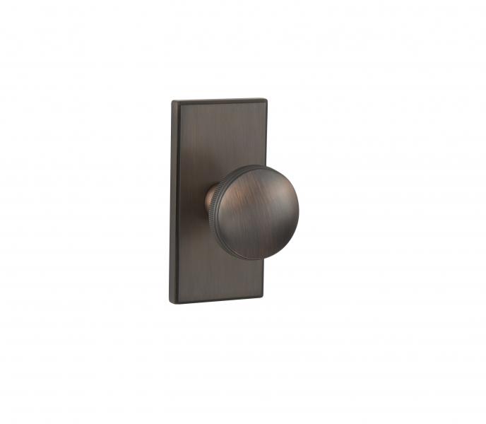 WSPS-01-CRK02 – Oil Rubbed Bronze Contemporary Door Knob