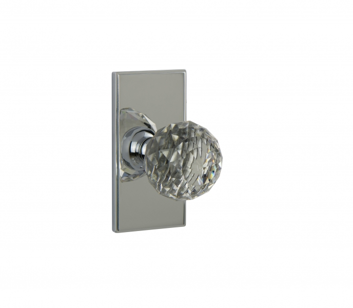 WSPS-01-DIAMOND CRYSTAL – Contemporary Door Knob